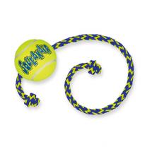 KONG AIR SQUEAKER TENNIS BALL M/TOUW MEDIUM | Mandapotheek.nl